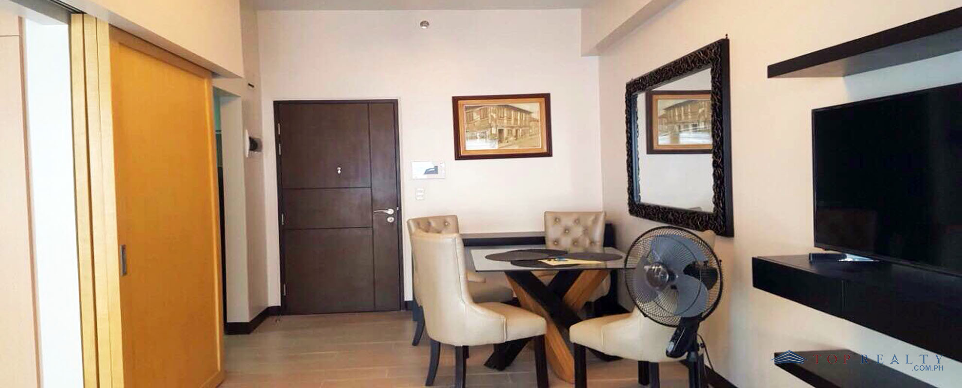Top Realty Corporation Executive Studio Condo For Rent